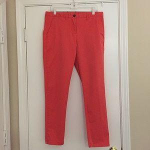 Bright orange GAP khakis